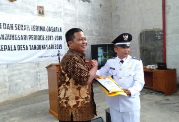 Endang Rukman Dilantik Menjadi PJs Kades Tanjungsari