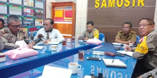 Rangka Menghadiri Undangan Polres Samosir Tindak Lanjut dari Penandatangan Nota
