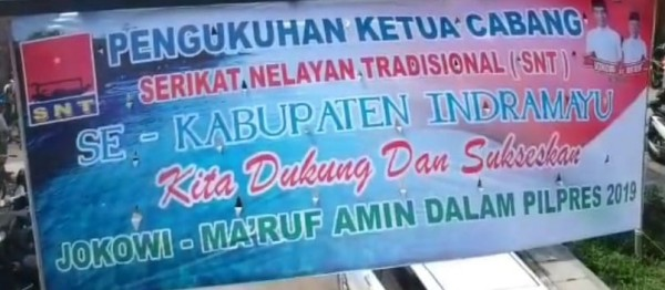 Serikat Nelayan Tradisional Indonesia (SNTI)  Deklarasi Dukung JOKOWI-MA'ARUF