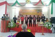 Pawai Warnai Perayaan Natal Dan Syukuran Tahun Baru Bawaslu Samosir.