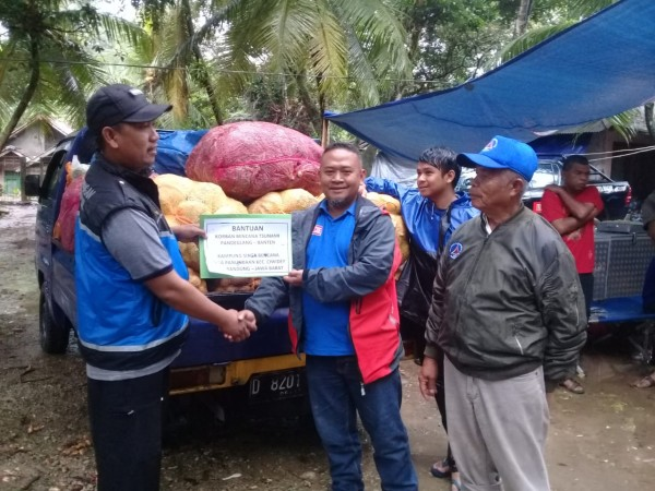 KSB Panundaan Bantu Korban Tsunami