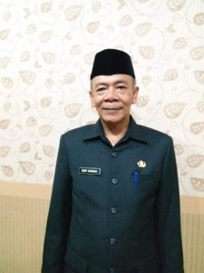 Sekda) Kabupaten Bandung definitif yaitu Teddy Kusdiana