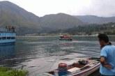 Sahril Sinaga Tenggelam di DanauToba, Camat Sitiotio: Setelah Jaring Kelima Korban Baru Ditemukan.