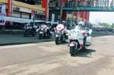 Milenial Road Safety Festival, Belasan Polwan Free Style Moge di Stadion si Jalak Harupat