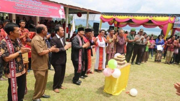 Pemkab Samosir Percepat Pembangunan, Bupati Rapidin Blusukan ke Kecamatan Sitio-tio.