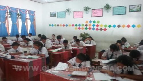 326 Siswa SMP Se-Kabupaten Samosir Ikuti Seleksi Akademik SMA Unggul Del di Pangururan