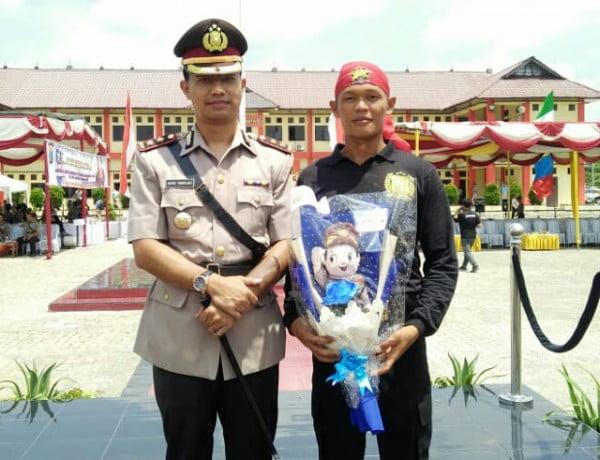 292 Bintara Remaja Polri Dilantik, Kapolres Samosir: Salah Satunya Dari Palipi.