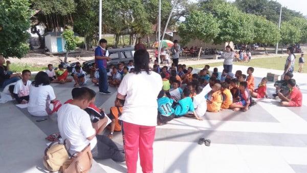Panitia Kiyam U-13 IWO Samosir Kembali Berikan Edukasi Pariwisata dan Aksara Batak.