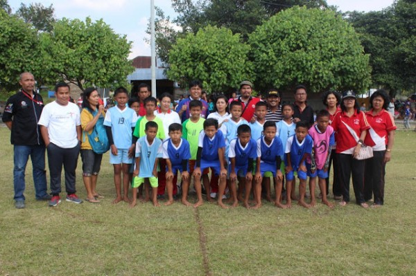 SMP N 3 Pangururan Lolos Final di Turnamen Kiyam U-13 IWO Samosir 2019.