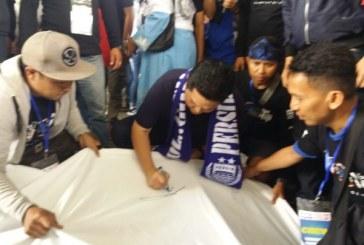 Ribuan Bobotoh, Deklarasikan Dukung Joko Widodo-KH Maruf Amin