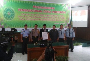 Membangun Zona Integritas Menuju Bersih di PN Pekanbaru