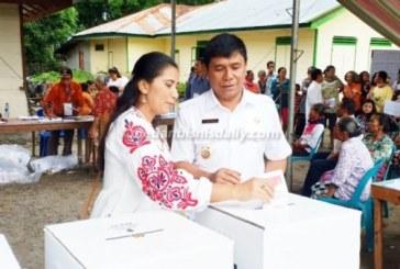 Juang Sinaga Optimis Partisipasi Pemilih Masyarakat Samosir mencapai 90%,.