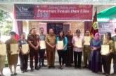 Hari Pertama Pameran Tenun dan Ulos Tingkat Kabupaten Samosir.