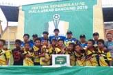 Tim Tirta Raharja Juara Turnamen Sepakbola Festival Askab Bandung 2019