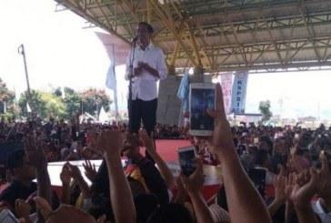 1250 Personel Gabungan, Amankan Kampanye Jokowi