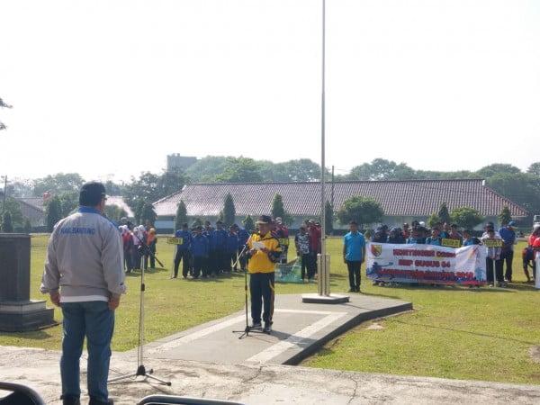 Disdik Kabupaten Bandung Gelar O2SN Tingkat SMP