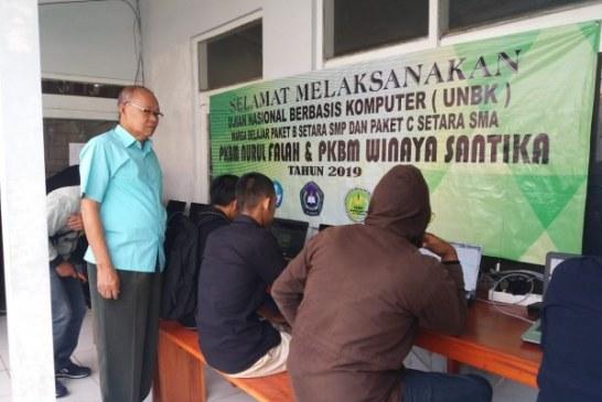 PKBM di Kab Bandung Gelar UNBK Paket C