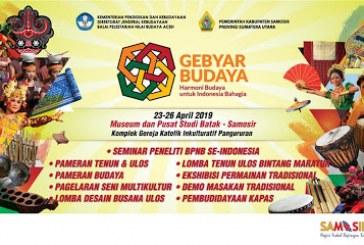Menteri Pariwisata Resmikan Event Gebyar Budaya Indonesia