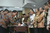 Bupati Samosir Turut Hadir Dalam Rakor Pencegahan Korupsi di Kantor Gubsu