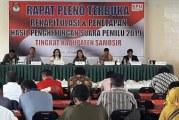 Rapat Pleno Terbuka Rekapitulasi dan Penetapan Hasil Penghitungan Suara Pemilu2019