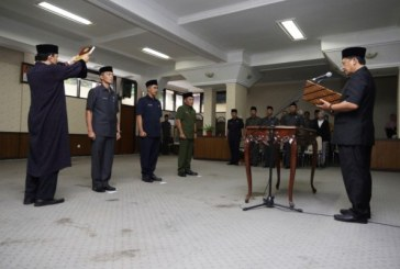 Tiga Pejabat Pratama Kab Bandung Dilantik di Bale Sawala