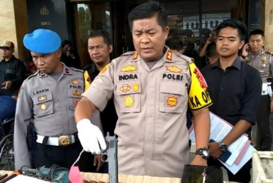 Polres Bandung Amankan Lima Komplotan Pembobol Brangkas Pabrik Hilon