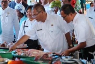 Antisipasi Lonjakan Harga Jelang Idul Fitri,Pemkab Samosir Gelar Monitoring Harga.