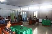 Sidang Perdana Kades Ketapang Raya Terkait Tidak Publikasi RAB APBDES 2012-2018