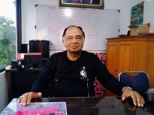Pemilik objek wisata alam Palalangon, Imam Hermanto