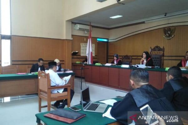 Sidang oknum KPK gadungan di PN Cianjur, Plt Bupati penuhi panggilan sebagai saksi