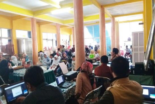 PPDB SMP di Gugus 3 Kab Bandung Berjalan Lancar