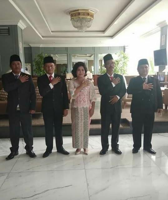 KPU Tetapkan Anggota DPRD Samosir Periode 2019-2024 Terpilih