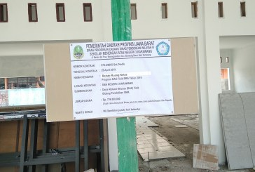 Pembangunan Rehab Kelas di SMAN 3 Karawang Perlu Diusut