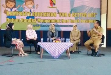 Cegah Anak Putus Sekolah, 300 Ketua Osis Dibekali Semangat