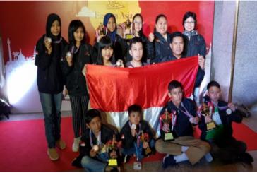 Siswi SMP Negeri 1 Cilacap Raih Gelar Woman Candidate Master di Thailand