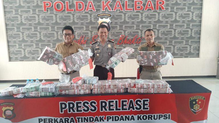 Polda Kalbar Bongkar Kasus Korupsi 20 Miliar di 48 Desa di Bengkayang