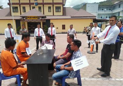 Hasil Rekontruksi, Polres Samosir: Dua Pelaku Aniaya Rio Sihotang Hingga Tewas.