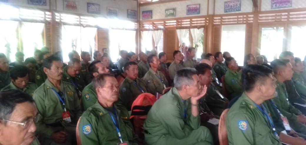 Bimtek Diteksi Dini Kesbang Pol Di Saung Bilik Cilame Soreang