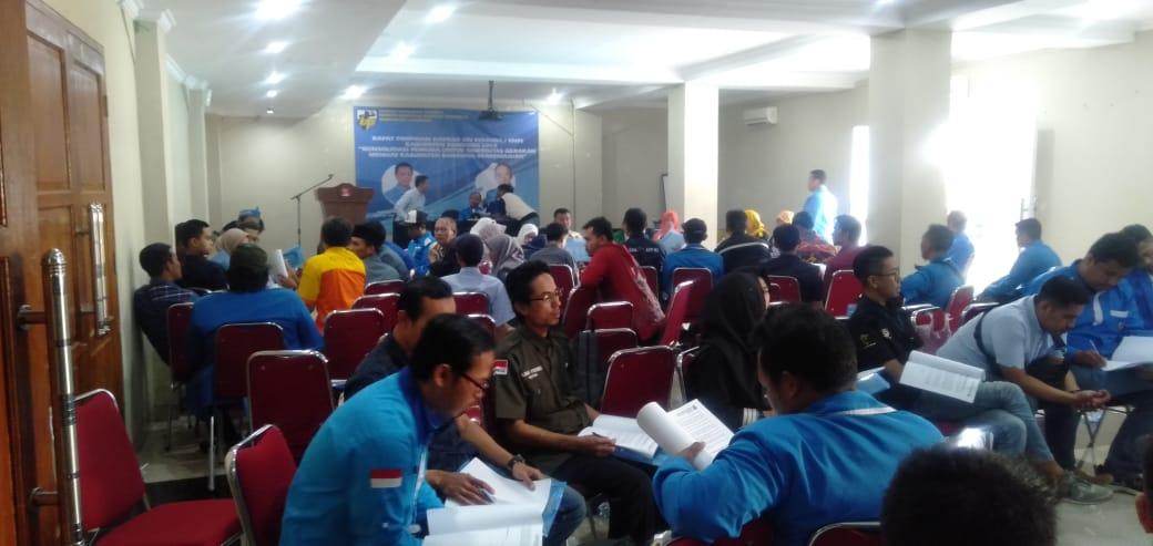 Rapimda XIV KNPI Kab Bandung Di Hotel ALBIS Rancabali Ciwidey