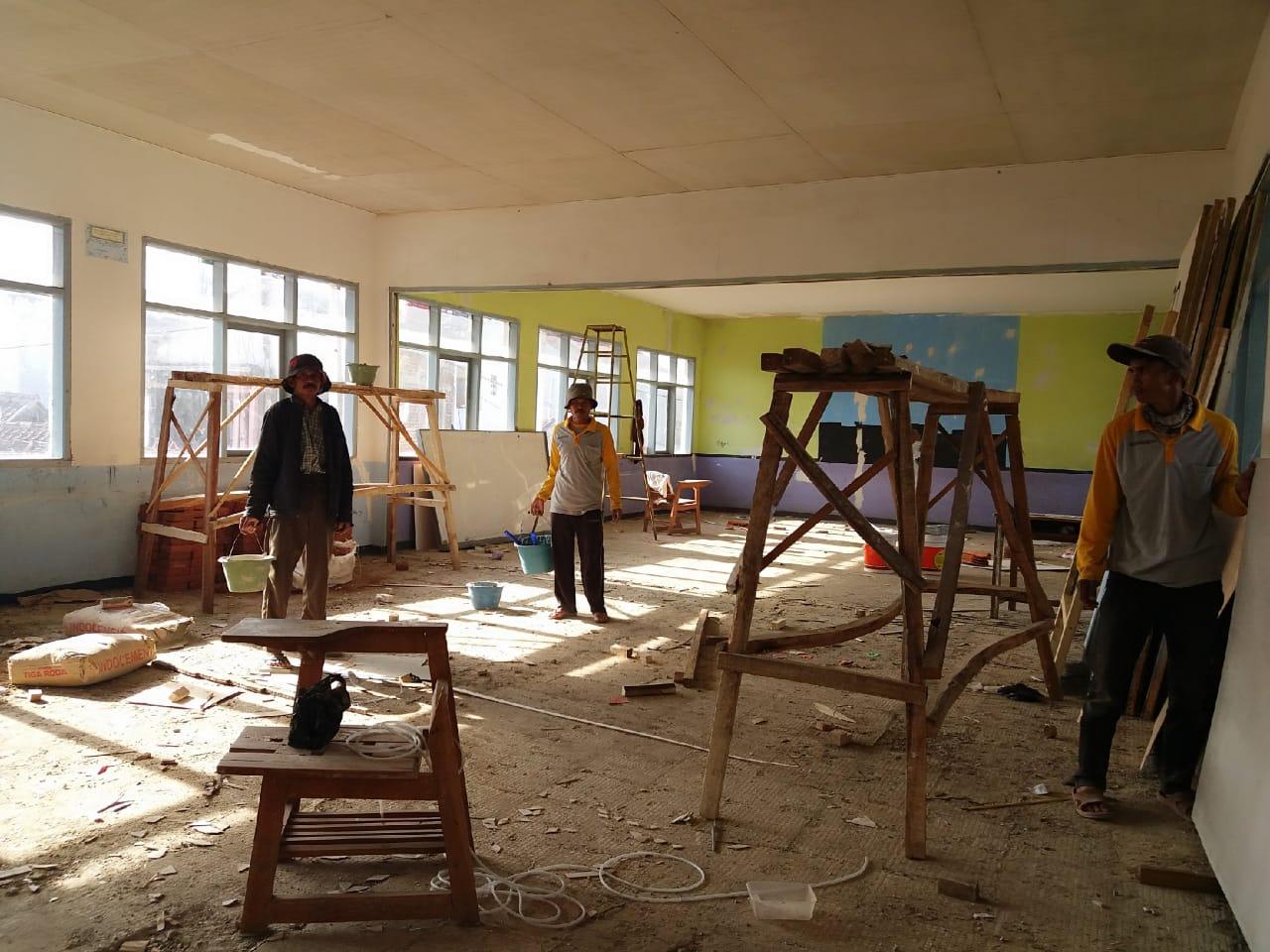 Puluhan Fasilitas SMP di Kab Bandung Mendapatkan Perbaikan Bersumber Dari DAK dan APBD