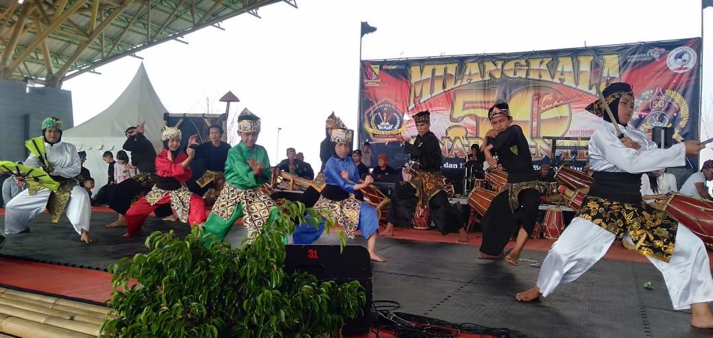 Paguron Tri Tunggal Pusaka Ikut Tampil Dalam Milangkala Paguron Sinar Banten
