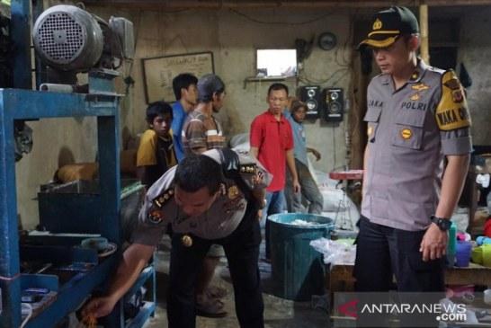 Polisi ungkap pabrik mie berformalin di Cianjur