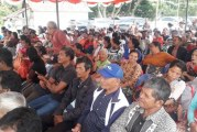 Wakil Bubati Samosir Hadiri Peresmian Desa Sadar Jaminan Sosial Ketenagakerjaan