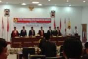 Pelantikan Pimpinan DPRD Kab.Samosir dan Pengucapan Sumpah/Janji dalam Masa Jabatan 2019-2024.