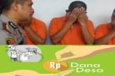Korupsi Dana Desa, Mantan Kepala Desa Menangis Saat di Kantor Polisi
