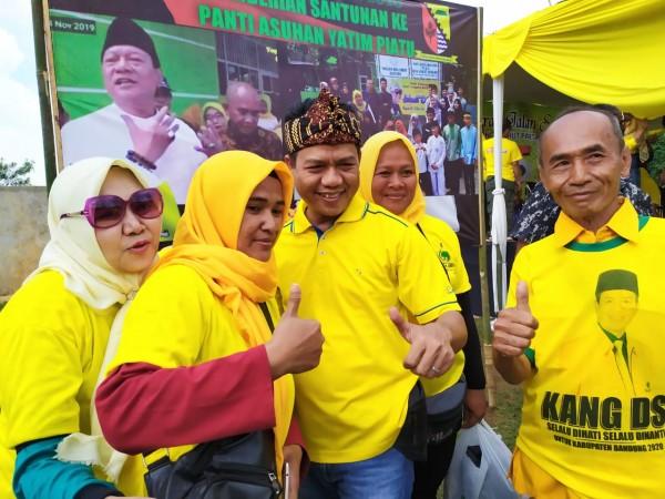 Balon Golkar Konsepnya Menang Pilbup Kab Bandung