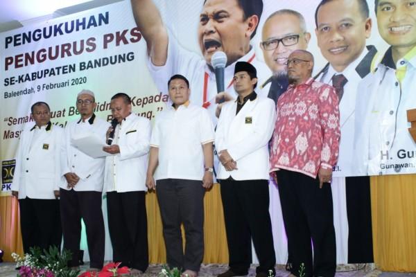Ketua DPP PKS Hadiri Pengukuhan Pengurus PKS Kab Bandung 2020-2023