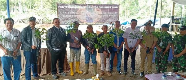 960 Hektar Lahan PTPN VIII Kritis, 250.000 Bibit Kopi Ditanam