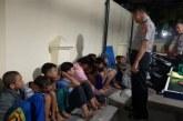 Polsek Baleendah Amankan 16 Remaja Diduga Akan Tawuran