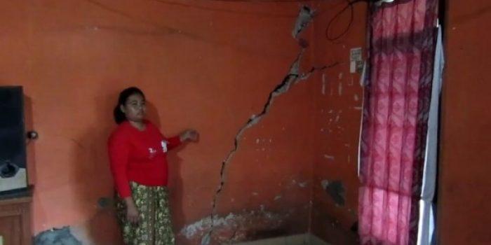 BPBD Kab. Bandung: Rumah Warga Retak Retak , Akibat Pergerakan Tanah , 20 KK Harus di Relokasi